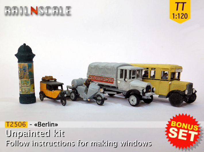 BONUS SET «Berlin» (TT 1:120) 3d printed