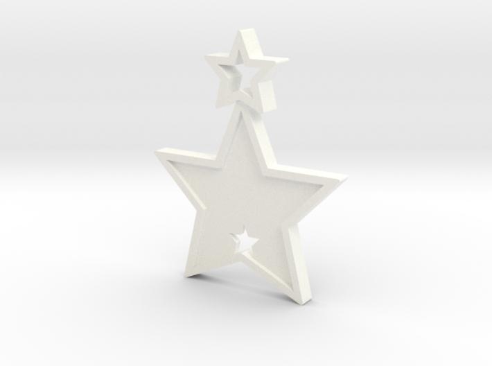 Star Pendant (Customizable) 3d printed