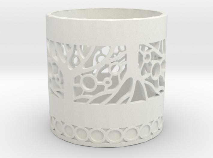 Tree of Life Tealight Holder 3d printed