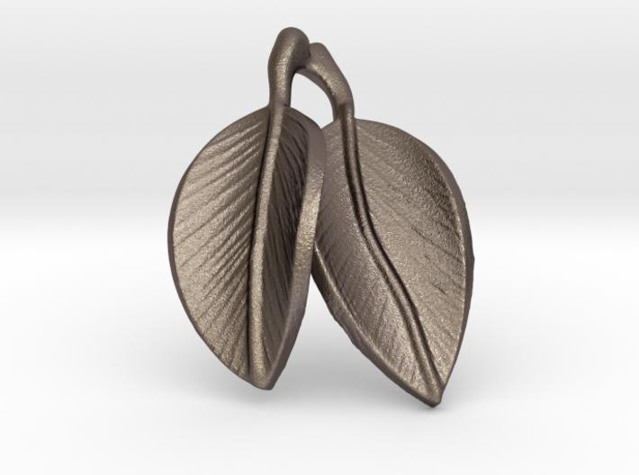 leaves pendant 3d printed