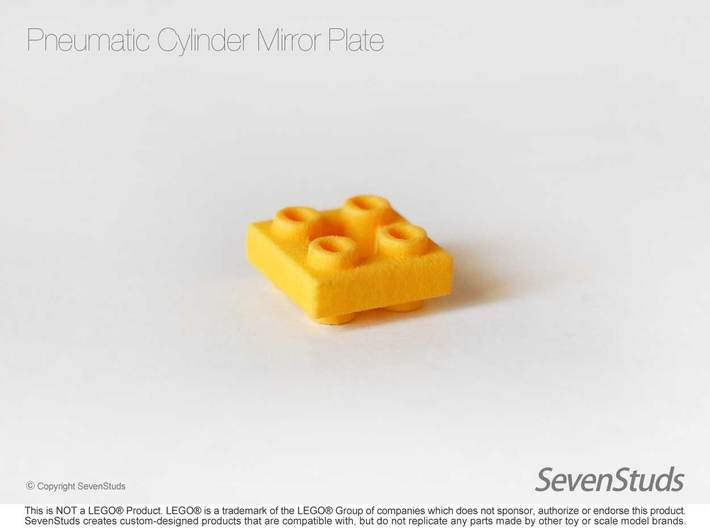 Pneumatic Cylinder Mirror Plate 3d printed