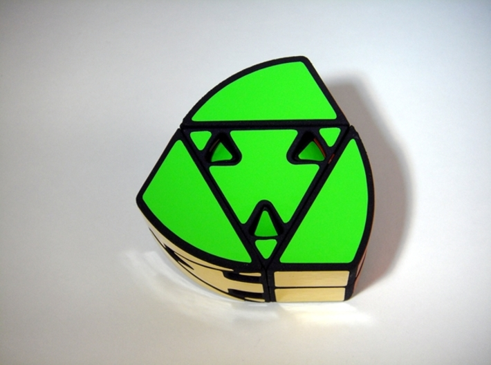 RotoPrism 2 Peekaboo Puzzle 3d printed Green Side