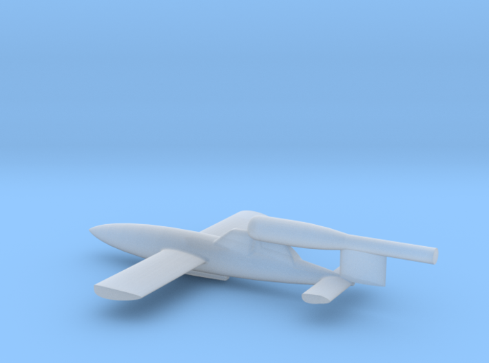 6mm Scale 1/300 Piloted V1 (Fieseler Fi.103R) 3d printed