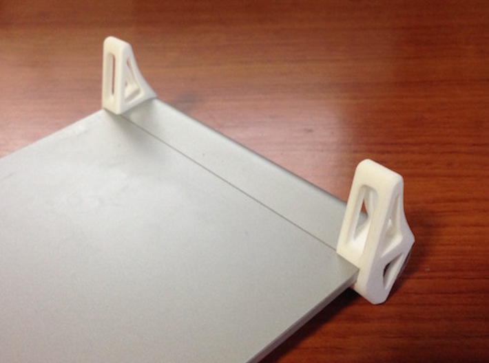 keyboard and trackpad stand for imac 3d printed