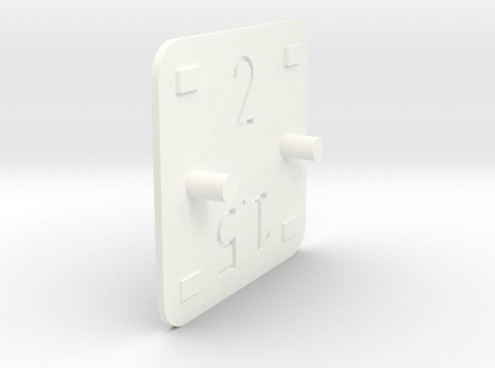 Cale Hauteur V2 3d printed