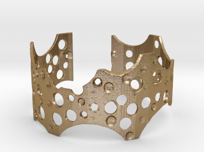 Barnacle cuff (small/medium, loose fit) 3d printed