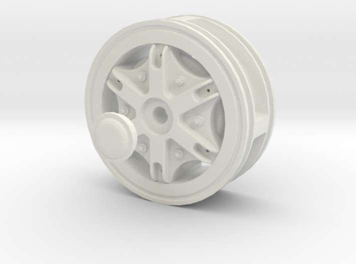 Front-wheel-traction-Dia50mm 3d printed