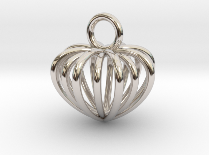Hearts 3d printed