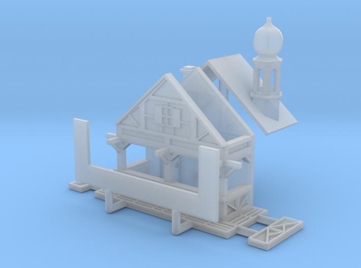 Zwiebelturmbude - 1:220 (Z scale) 3d printed