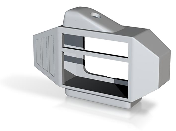 Micro Resonator (Part 1, Body) 3d printed