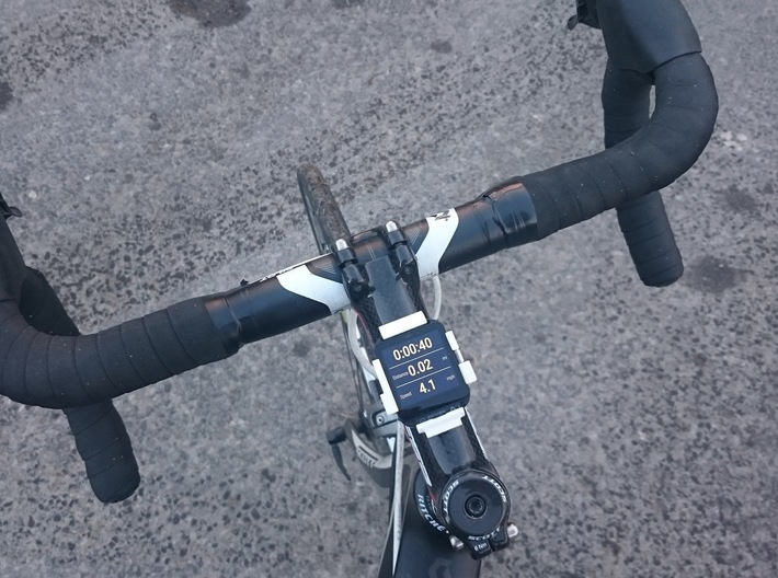 Sony Smartwatch 3 quarter turn bike clip 3d printed