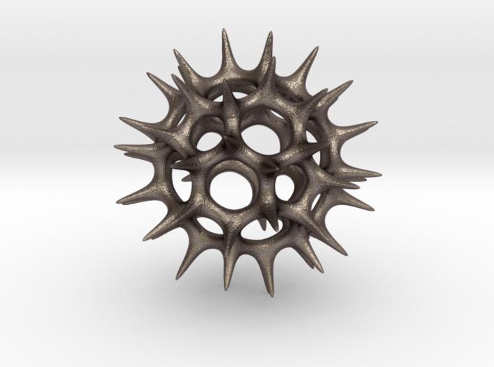 Acrosphaera (Radiolaria) 3d printed