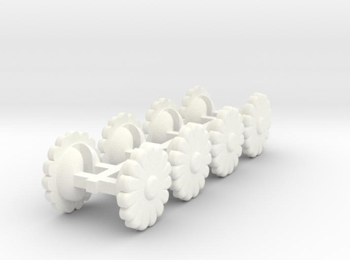 Wackywormflowers 3d printed