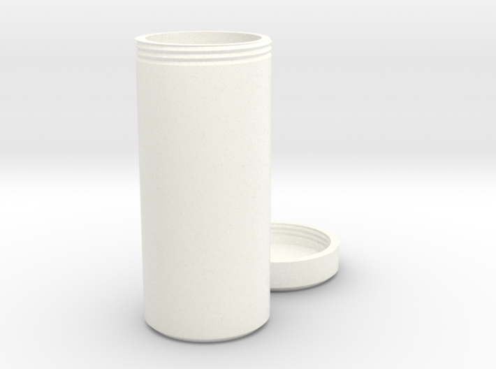 Multi-purpose Bottle with Screw On Cap 3d printed
