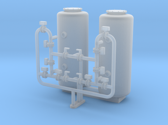 N Scale Sand Filter 3d printed