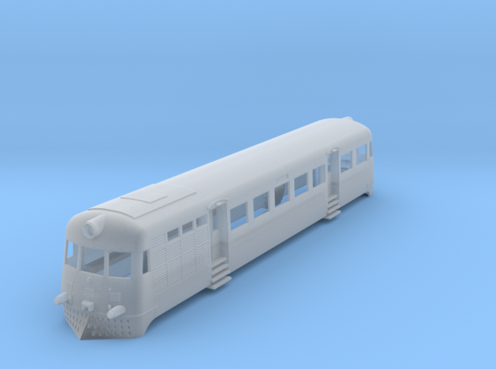 T1 Railcar Ho 3d printed