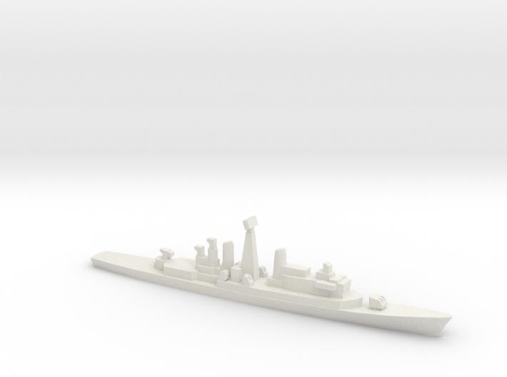 ITS Impavido-class DDG, 1/1800 3d printed