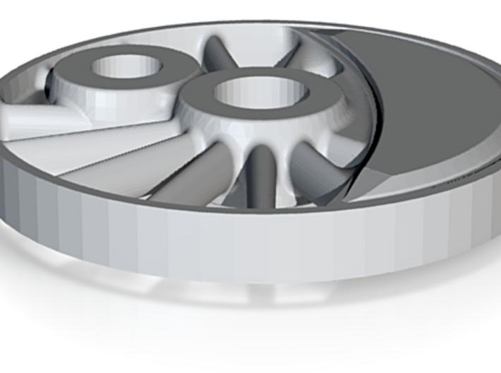Hjul H-maskine Spor0 - Drivhjul Uden Flange , Spo 3d printed