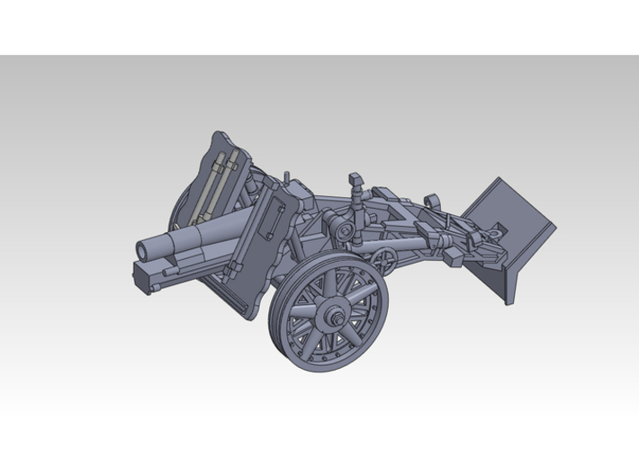 1/120 sIG33 15cm Heavy infantry cannon 3d printed