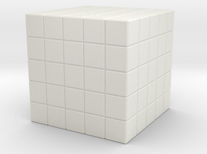 5x5x5 Full Holes 3d printed