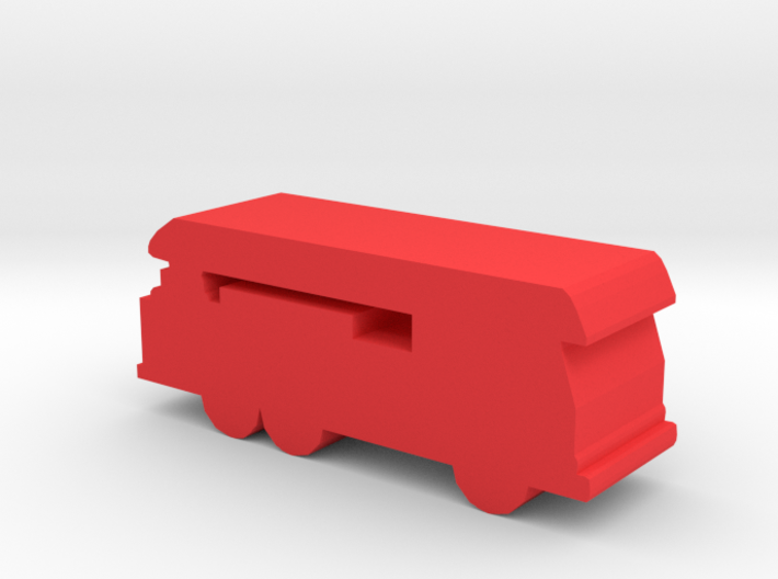 Game Piece, Ladder Truck 3d printed