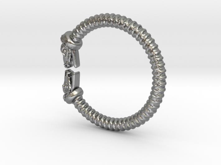 Viking Dragon Ring Beta 3d printed