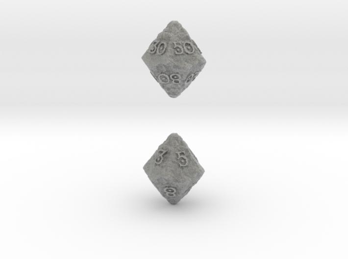 ANCIENT RELICS d10 d00 3d printed