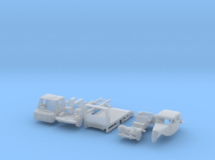SET Oldtimer Transport (British N 1:148) 3d printed