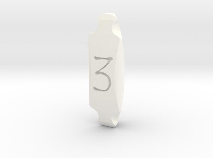 D3 3d printed