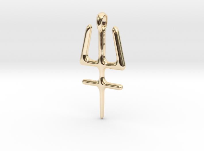 ESSENSE Symbol Jewelry Pendant 3d printed