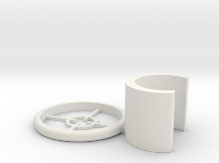 Nerf Jolt Scope 3d printed