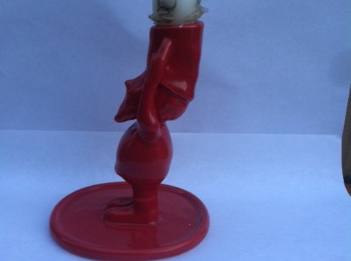 Gnome/Elf Candle Holder 3d printed