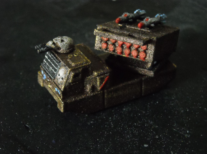 MG144-Aotrs05 Devil Storm Light Munitions Vehicle 3d printed