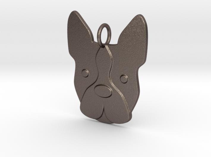 Boston Terrier Charm 3d printed