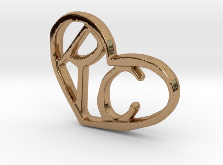 Love Pendant Pt. 1 3d printed