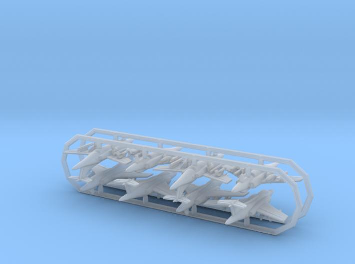 1/700 Buccaneer RAF w/gear x8 (FUD) 3d printed