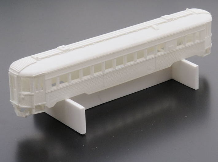 CNSM 741 - 776 Silverliner series coach 3d printed Sprayed in grey primer