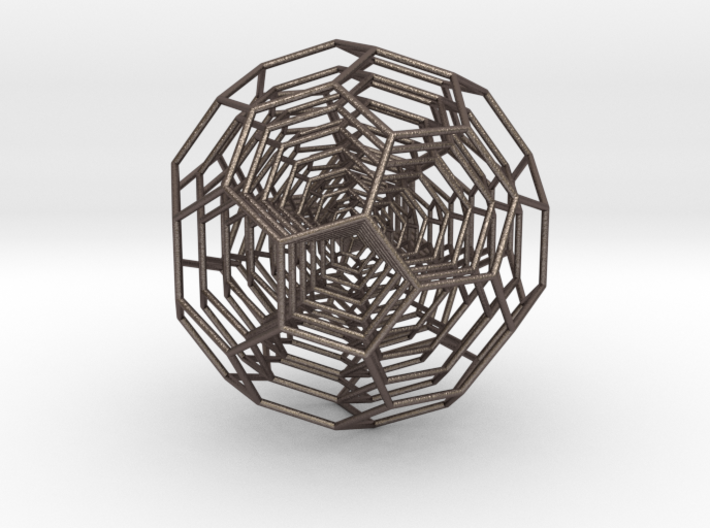 0380 7-Grid Truncated Icosahedron #All (18.5 cm) 3d printed