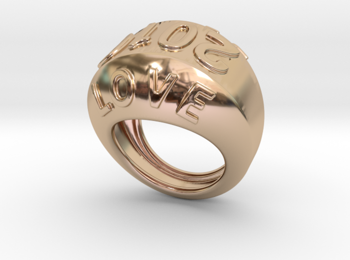 2016 Ring Of Peace 23 - Italian Size 23 3d printed