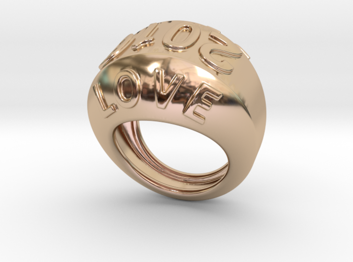 2016 Ring Of Peace 25 - Italian Size 25 3d printed
