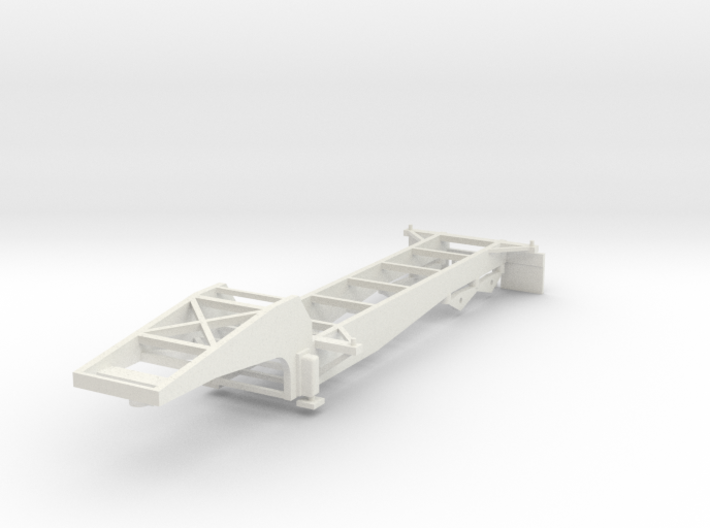 000064 Container Trailer USA HO 1:87 3d printed