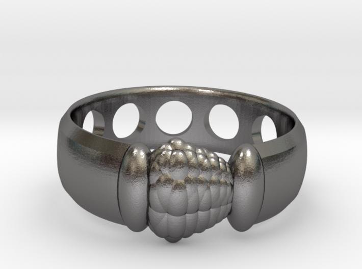 Alien Egg Ring Delta 3d printed