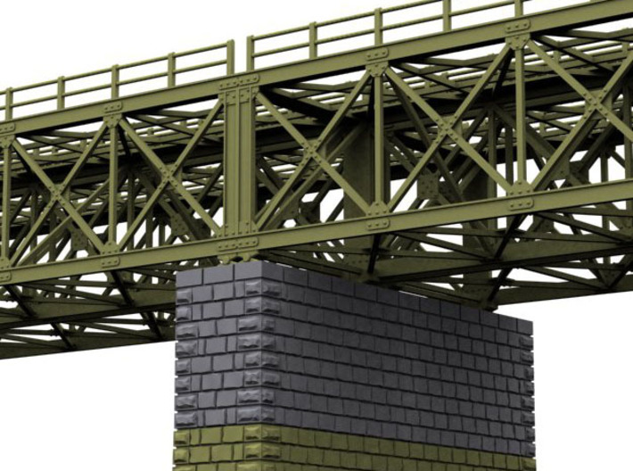 NV4M09 Modular metallic viaduct 1 3d printed
