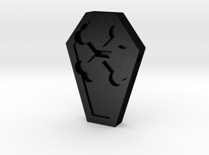 Coffin Pendant 3d printed