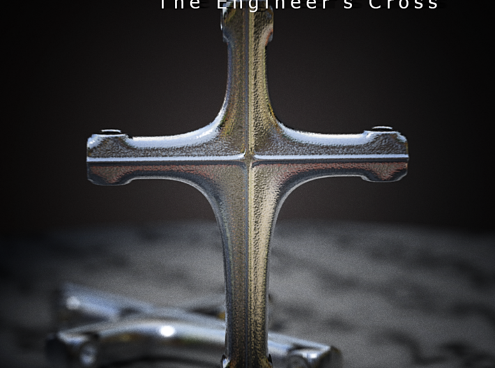 The Engineer's Cross 3d printed