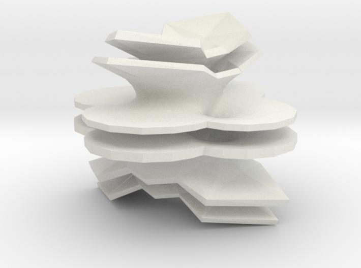 Hyper-Costa 3d printed