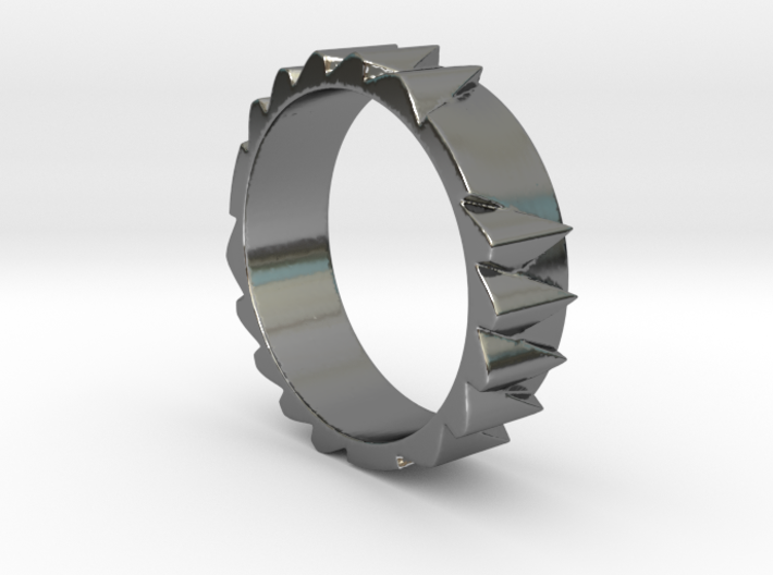 Spitzenring Ring Size 10.5 3d printed