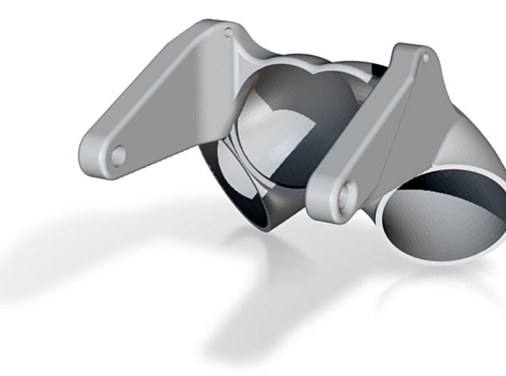 Reverse Rudder V3 3d printed