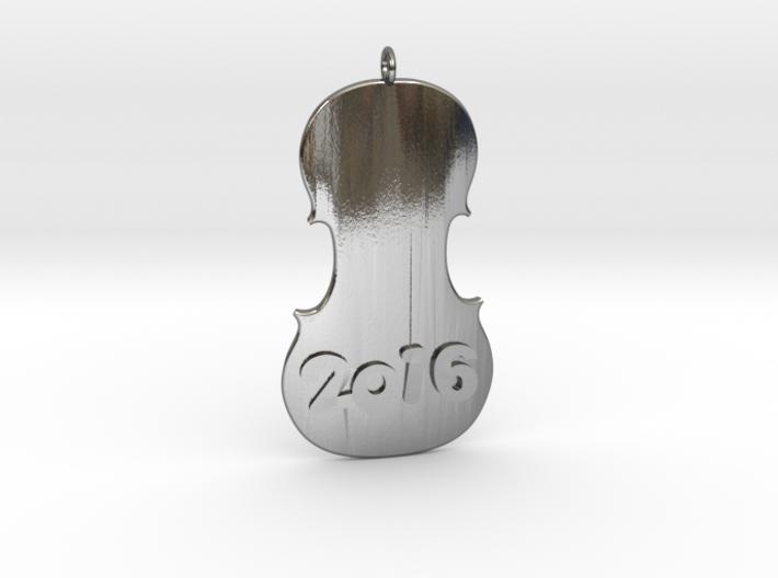 Happy Violin 2016 3d printed