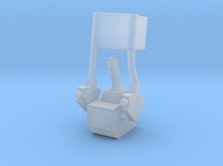 F12F-Folded ATCA Armrest-LMP Side 3d printed